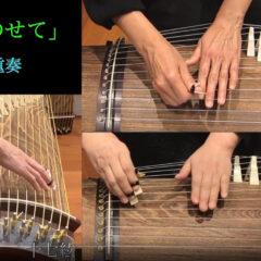 「君をのせて」 箏三重奏 / Carrying You(Koto Trio)【琴】
